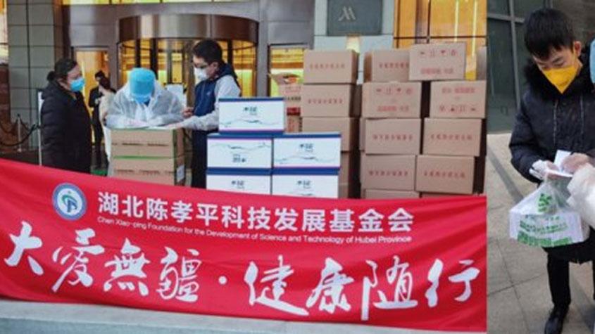 赛生医药捐赠100万现金和价值600万的注射用胸腺法新(日达仙)-technewschina
