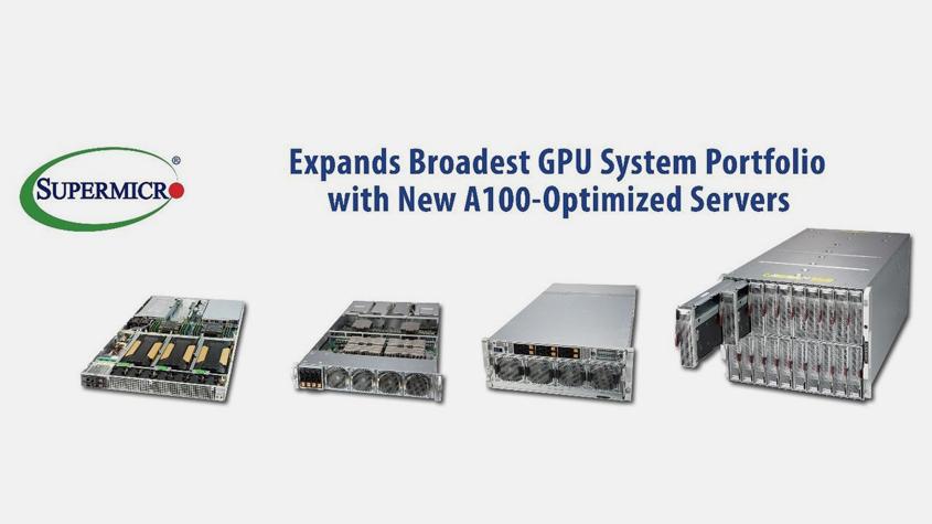 Supermicro推出搭载NVIDIA HGX A100 8-GPU的最高密度4U服务器及最新8U SuperBlade®-technewschina中国科技新闻网