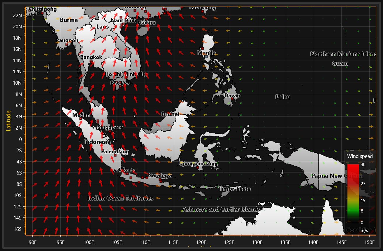图表控件LightningChart.NET初学者指南之XY图表-地图