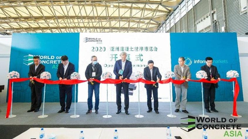 WOCA 2020 亚洲混凝土世界博览会在上海开幕