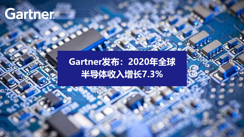 Gartner数据统计:2020年全球半导体收入增长7.3%-technewschina