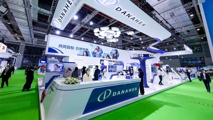 丹纳赫参展第四届进博会,赋能中国大健康生态圈建设-TechNewsChina中国科技新闻网