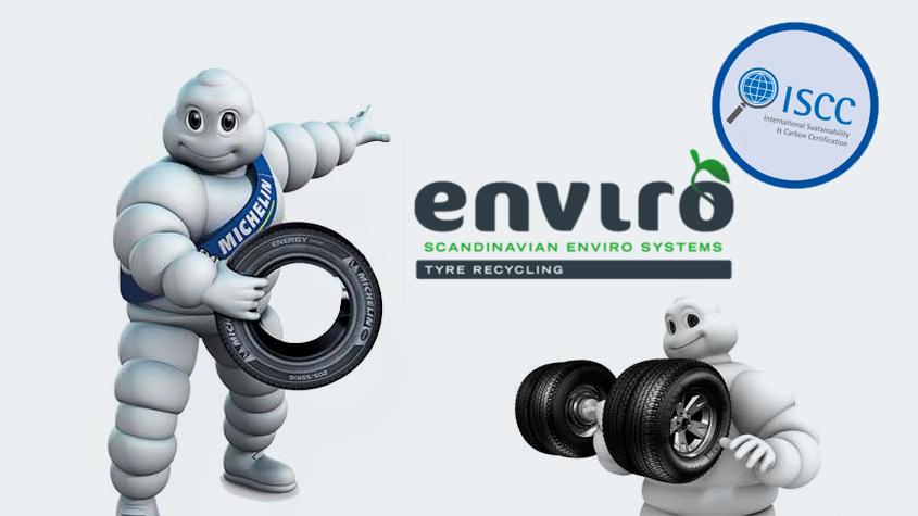 Enviro的回收油和炭黑通过ISCC认证